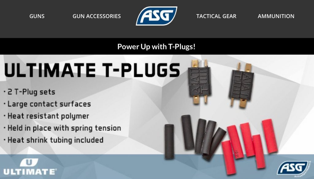 ActionSportGames Ultimate T-Plugs newsletter.